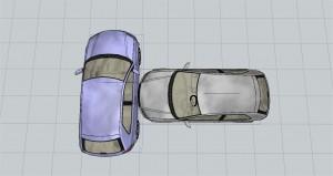 Col·lisió front-lateral de vehicles
